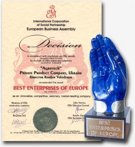 "Award of the European Business Assembly ""Oxford"""